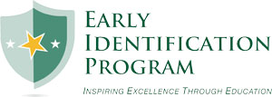 K-12 Partnership Logo: Early Identification Program (300px)